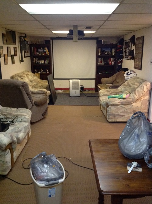 Help with basement man cave please - Small space man cave model ...