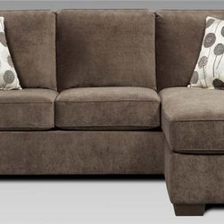 Chelsea Home 92 in Worcester Queen Sleeper Sofa Includes toss pillows and 4 in inner