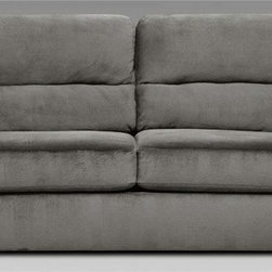 Chelsea Home Baltimore Queen Sleeper Sofa Includes 4 in inner spring mattress Transitional