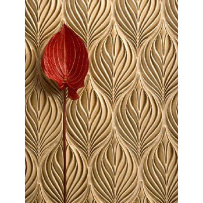 Leaf Patterned Tiles Firplace 1000 Free Patterns