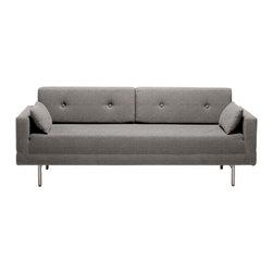 "Blu Dot ""Blu Dot e Night Stand Sleeper Sofa Pebble"" ""It s a modern sleeper sofa that"