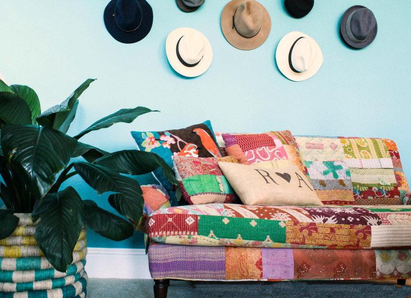 mediterranean bedroom by Mina Brinkey