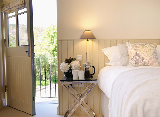 transitional bedroom by Robertson Lindsay Interiors