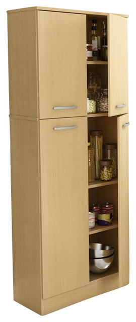 maple kitchen pantry cabinet south shore storage pantry in maple 23052