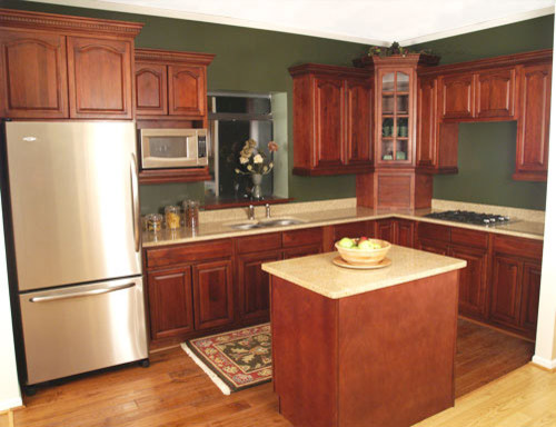 kitchen design and remodeling cherry walnut kitchen cabinets home design traditional 4392