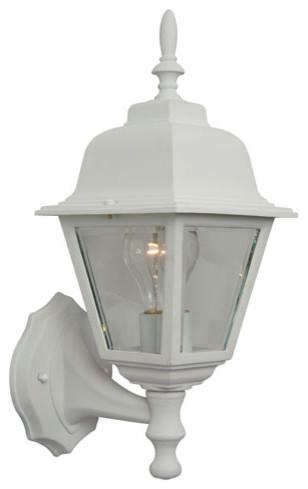 Modern Outdoor Lighting Coach Lights Matte White Wall Mount