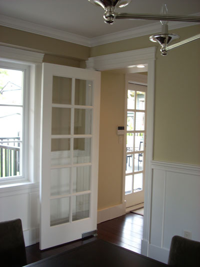 Dining room waiter pivot door - Traditional - Interior ...