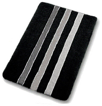 black and white bathroom mats black and white bath rug contemporary bath mats 22725