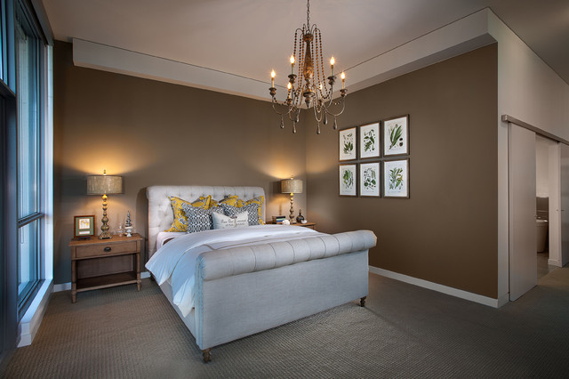 Modern French Country - Contemporary - Bedroom - orange county