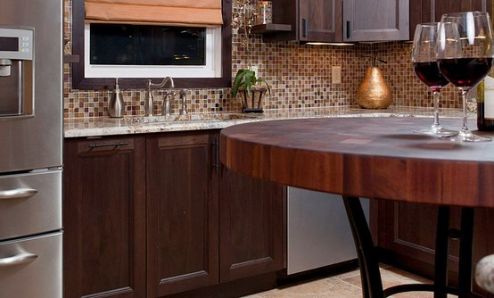 pro kitchen cabinets sapele mahogany butcherblock countertop table designed by 1662