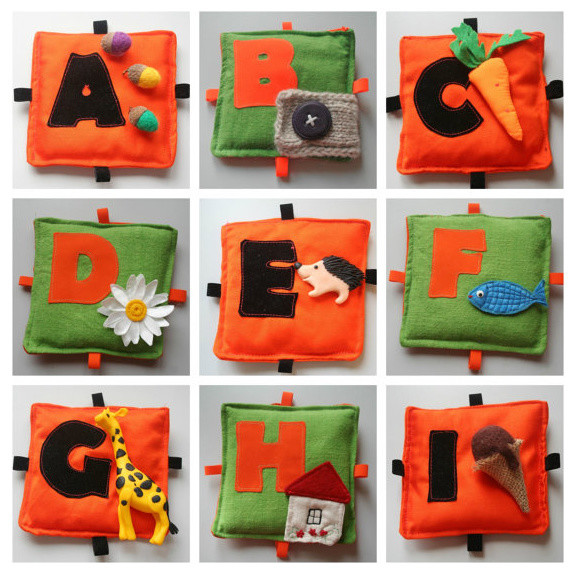 Montessori/Waldorf-Inspired Alphabet ABC Learning Toy by ...