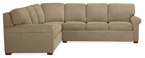 Carlin Queen Plus Sleeper Sectional Contemporary Sectional Sofas by Room & Board