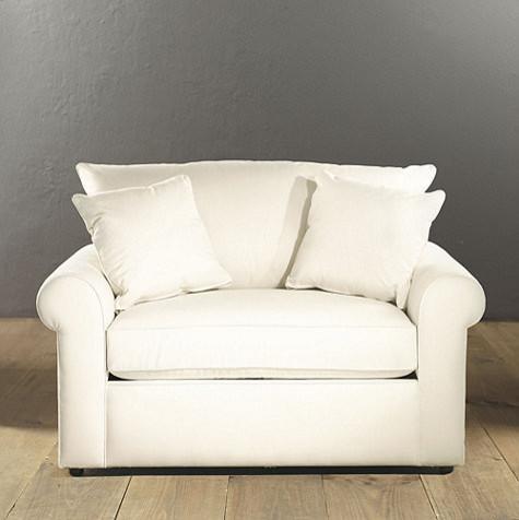 Upholstered Twin Sleeper Traditional Futons by Ballard Designs