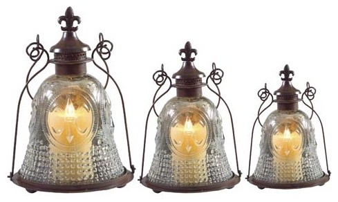 lights suitable for bathrooms fleur de lis lantern set of 3 traditional 19296