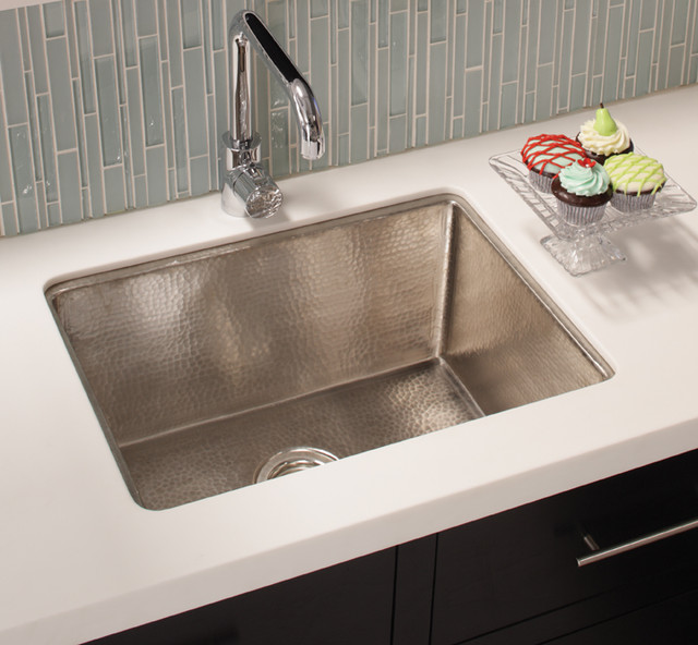 howdens kitchen sinks cocina 24 copper kitchen sink in brushed nickel by 1747