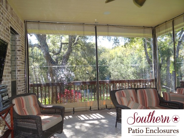 residential Clear Vinyl Patio Enclosure curtains by ... on Outdoor Patio Enclosures  id=12088