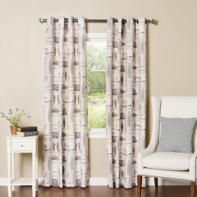 London Themed Curtains Curtain Menzilperde Net