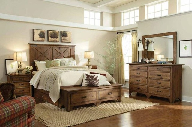 paint ideas for vaulted ceiling rooms - Home ing Farmhouse Bedroom phoenix by La Z Boy