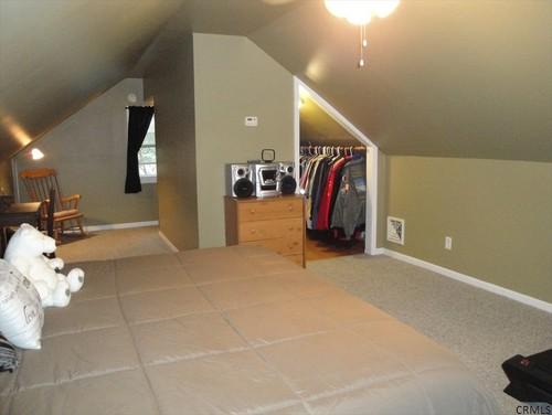 attic dormer lighting ideas - Master Bedroom NON Dormered Attic Ideas