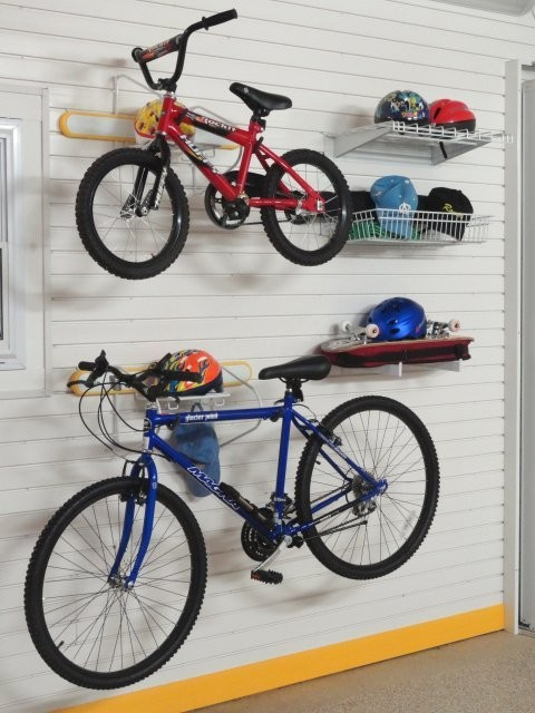 slat ceiling ideas - Garage Bike Storage GT574 Modern Wall Hooks london