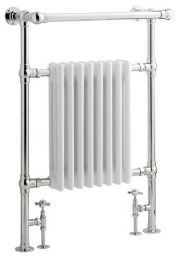 Add a heated towel warmer to your master bathroom.