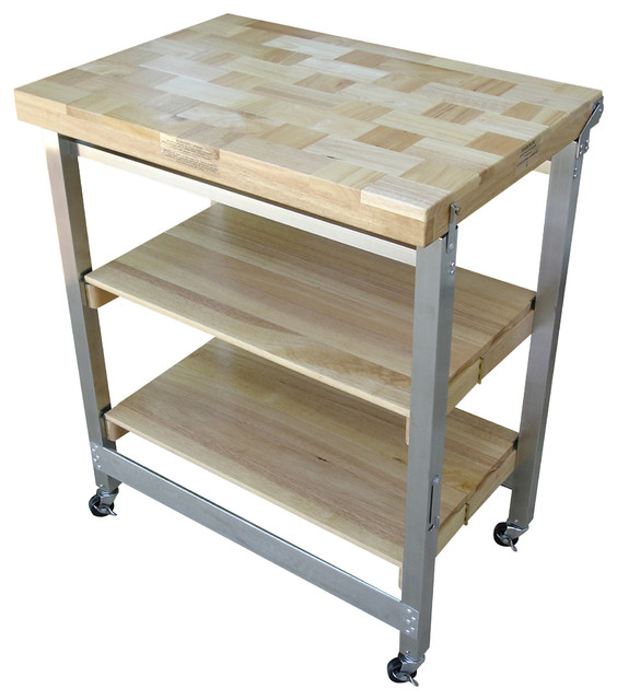 oasis island kitchen cart oasis concepts stainless steel wood flip amp fold kitchen 21012