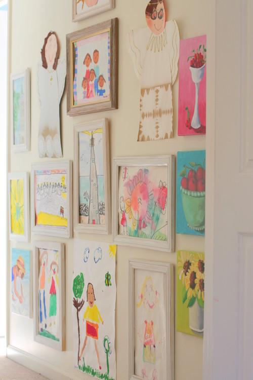 Πίνακας ζωγραφικής από παιδιά