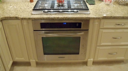 Cooktop Under Counter Oven