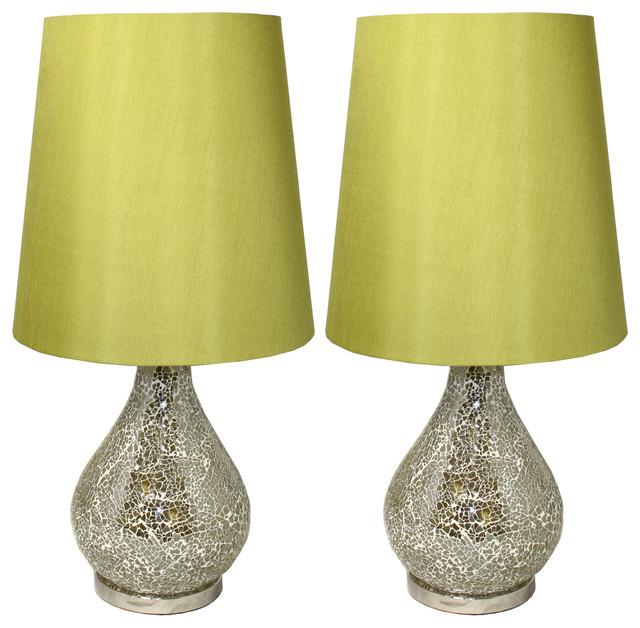 Lovely Broken Glass Lamp - Lamp Design Ideas NH62