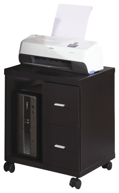 printer cabinet monarch flow mobile wood computer printer stand in 24945