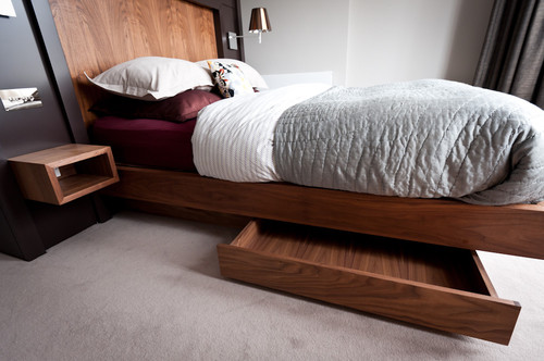 Contemporary Bedroom by South West Design-Build Firms Moon Design + Build