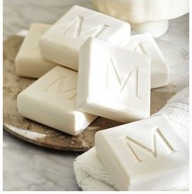 Personalized Soap Decorative Carved Squares Traditional