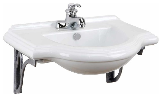 bathroom sink supports wall mount sinks medium bayside metal supports for 4 11430