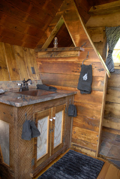 Whimsical bathroom by The Rustic Way