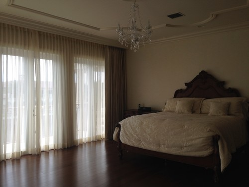 Sheers and Blackout drapes - Window Treatments