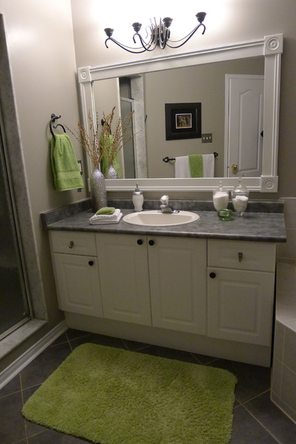 do it yourself bathroom mirror frame bathroom vanity with custom mirror frame contemporary 25239