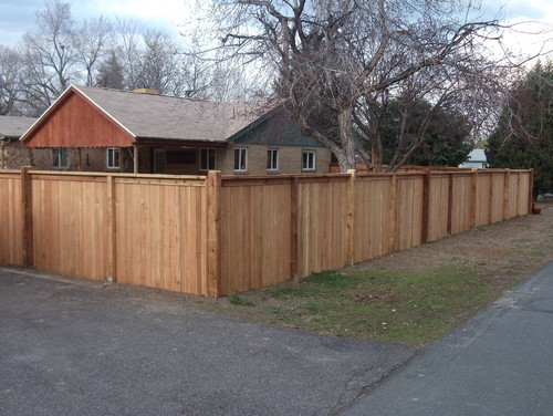 Allen Specialty Flat Top Privacy Alpine Fence Of