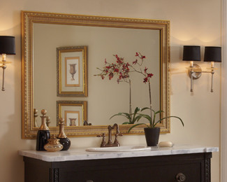 custom framed mirrors bathroom custom framed mirrors bathroom louisiana brigade 18028