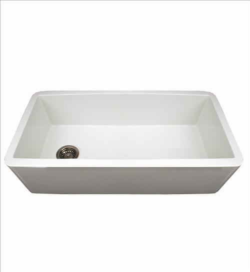 whitehaus bathroom sinks whitehaus wh3618 white duet reversible sink traditional 15167