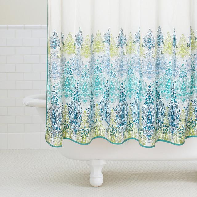 Yellow And Blue Shower Curtains Curtain MenzilperdeNet