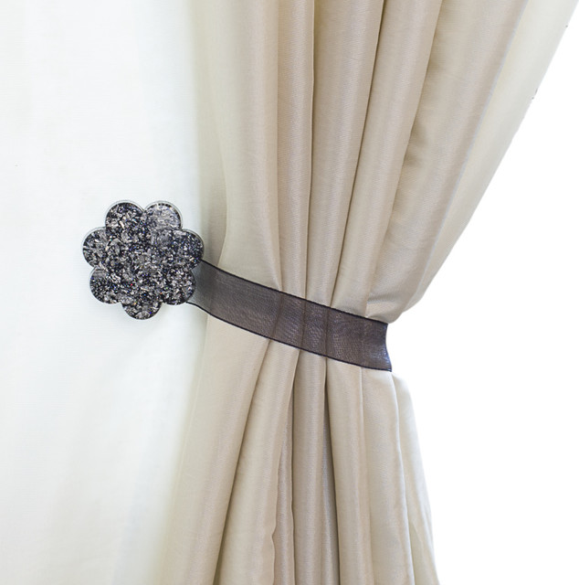 How To Use Curtain Tie Backs Without Hooks