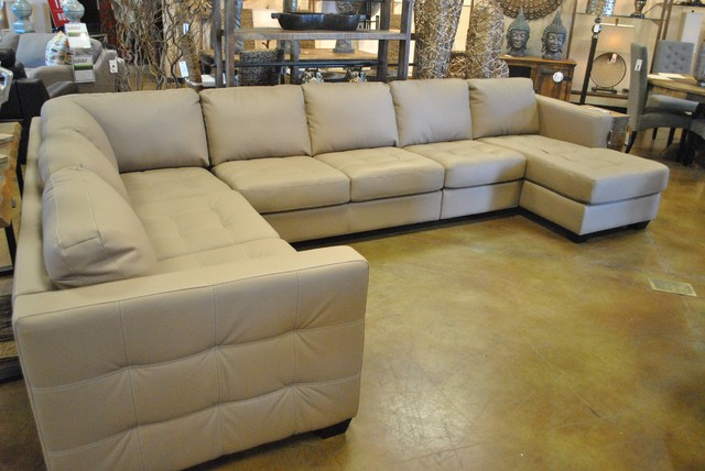 Brit Extra Large Sectional Contemporary Sofas