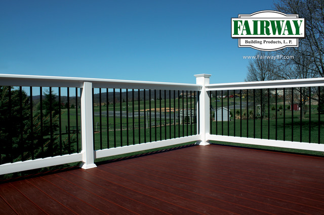 Fairway Vinyl Railing - Traditional - Outdoor Products ...