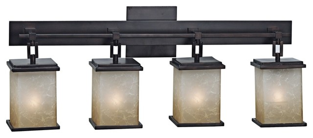 arts and crafts bathroom lighting corteo collection four light bath light fixture modern 21932