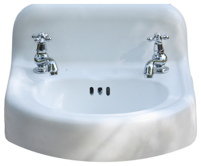 vintage wall mount bathroom sink consigned 1956 porcelain cast iron wall mount bathroom 24507