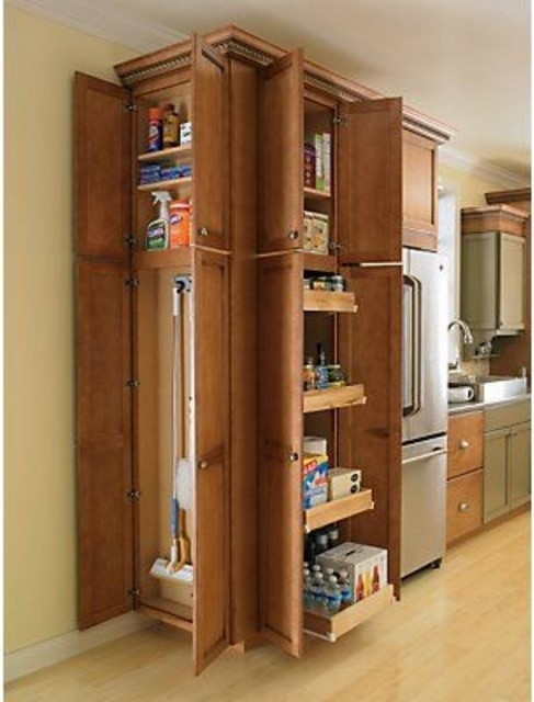 kitchen broom cabinet pantry vs broom closet allocation 18167