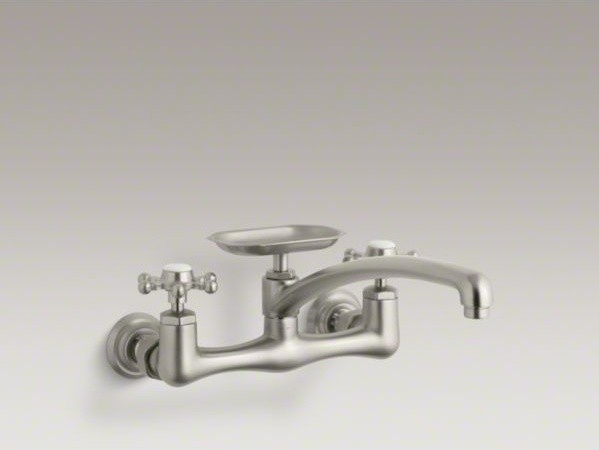 kitchen sink and faucets vintage wallmount kitchen sink and 20006