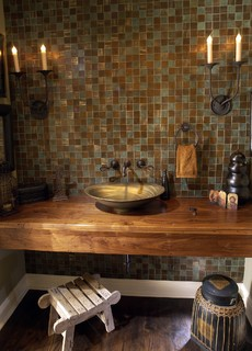 Heritage Wood Countertop from Artisan Group Stone on Carlisle Wide Plank Floors Blog