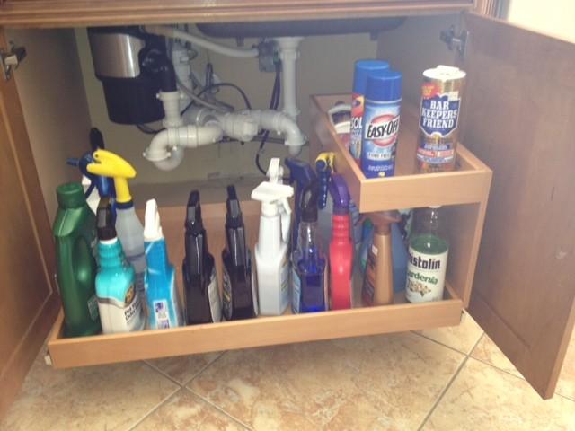 Under Kitchen Sink Storage Solutions Uk Ideas & Kitchen Sink Cabinet Storage | New House Designs