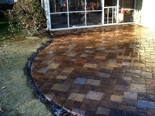 Decorative Concrete Patio Ideas on Patio Surfaces Ideas id=37857